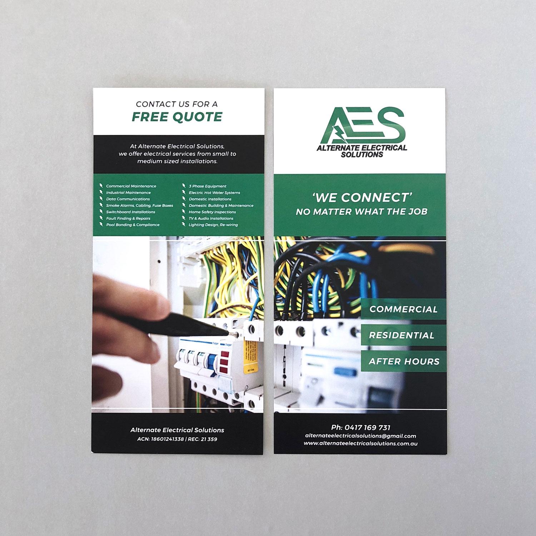 Flyer Design - DL - Graphic Design - Alternate Electrical Solutions
