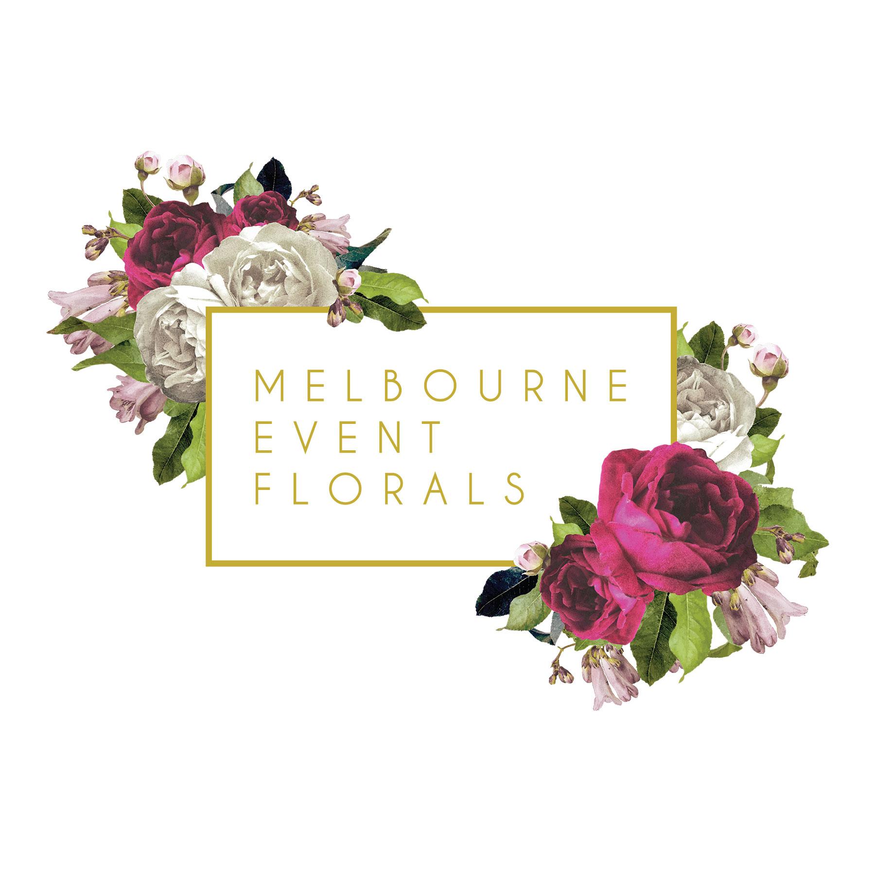 Melbourne Event Florals - Logo & Brand